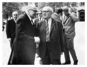 Horkheimer and Adorno (Wikipedia Commons)