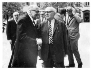 Horkheimer and Adorno (Wikipedia Commons)
