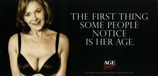 Le vieillissement est une des problématiques médico-sociles les plus discutées au 20e siècle. L'affiche ci-dessus vient d'une campagne de l'ONG britatnnique Age Concern