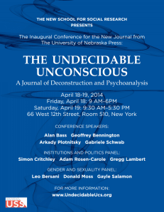 Undecidable Unconscious